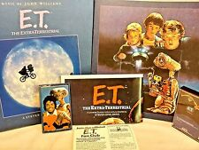 ET Vintage Michael Jackson John Williams Quincy Jones Cassette Tapes Spielberg