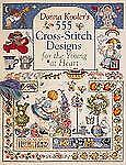 Donna Kooler's 555 Cross-Stitch Designs for the Young at Heart-ExLibrary