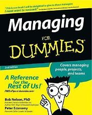 MANAGING FOR DUMMIES 2ND EDITION NELSON ECONOMY BUSINESS ECONOMICS BOOK