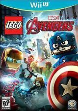 LEGO Marvel's Avengers Nintendo Wii U Brand New Factory Sealed - Fast Shipping