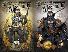 Lady Mechanika TPB Vol 1 & 2 SET Mechanical Corpse and Tablet Destinies TP - NEW