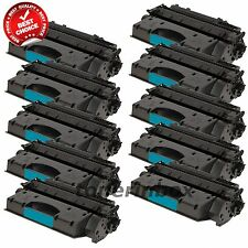 10 Pack CE505X 05X HY Toner Cartridges for HP LaserJet P2055 P2055dn P2055x