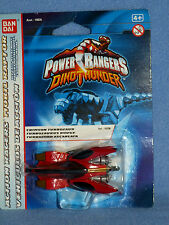 POWER RANGERS DINO THUNDER CRIMSON TURBOZAUR NEW DIECAST
