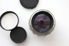 Nice Jupiter 9 2/85mm Silver - (Sonnar Copy) M39-M42 for SLR