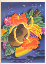 March 9 1948 Matsonia  Hawaii Ukulele Aloha Menu Matson Line by MacIntosh
