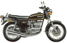 SUZUKI GT380A 1976 MODEL TANK AND SIDE PANELS FULL PAINTWORK DECAL KIT