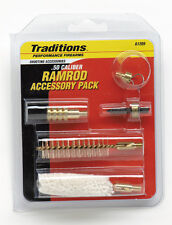 Traditions 5 Piece Black Powder Ramrod Accessory Pack .50 Cal.  # A1205  New!