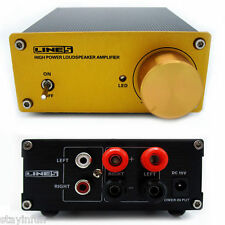 A960 100W Stereo Digital Audio Power Amplifier Aluminum Material