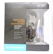 Sennheiser RS 170 Digital Wireless RF Headphones - Black
