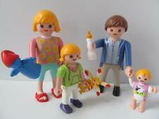 Playmobil Dollshouse figures: Family with baby, little girl & toys NEW