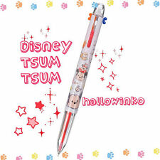 Japan Disney Store TSUM TSUM Cute 3 color in one Pilot Coleto Pen