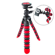 "Xit 12"" Flexible Tripod with Wrapable Legs, Quick Release Plate & Bubble Level"