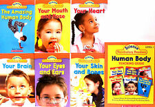 SCHOLASTIC SCIENCE VOCABULARY EASY READERS HUMAN BODY plus TEACHER'S GUIDE