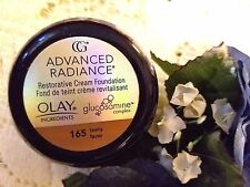 CoverGirl Advanced Radiance Restorative Cream Foundation 165 Tawny OLAY~DISCON'D