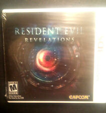 3DS GAME RESIDENT EVIL REVELATIONS BRAND NEW & FACTORY SEALED