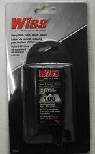 Wiss RWK18D Heavy Duty Safety Utility Knife Blades 100-Blades