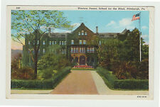 1940 Linen Western PA School for the Blind, Pittsburgh Pennsylvania