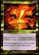 Simoon EX X4 Invasion MTG Magic Cards Red Green Gold Uncommon