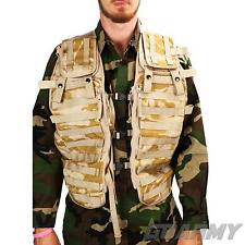 British Army Tactical Load Bearing Desert DPM MOLLE Vest