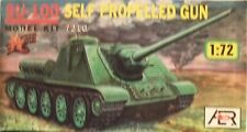 AER 1/72 Russian SU-100 Self Propelled Gun 7210 ,Great Deal At a Low Price!