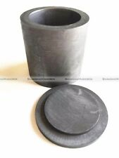 High Purity Graphite Casting Melting Crucible 30*40mm for Gold Silver With Lid