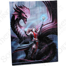 Fantasy Gothic Art Canvas Wall Plaque~Scarlet Mage~by Anne Stokes~19~uk seller