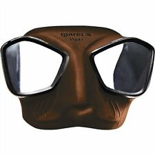Mares Viper Spearfishing Freediving Scuba Diving Dive Mask - Brown- 421411