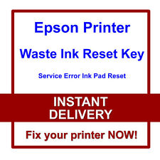 EPSON R360 R380 R390 R800 R1800 PRINTER RESET WASTE INK PADS SERVICE ERROR FAULT