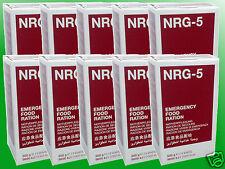 (12,70€/kg) 10x500g NRG-5 Notration, Kriesenvorsorge, Survival, Langzeitnahrung