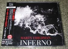 MARTY FRIEDMAN Japan PROMO SEALED CD obi MEGADETH SHM-CD 2 bonus tracks