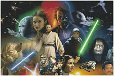 Star wars 14 count cross stitch kit