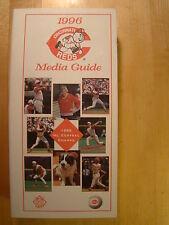 Cincinnati Reds  1996 Information Media Press Guide MLB Baseball