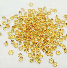 1000Pcs Amber Birthstone Crystal Floating Charm for Glass Living Memory Lockets