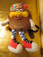 DUNKIN DONUTS ADVERTISING BACKPACK PLUSH DOLL VINTAGE COLLECTIBLE PROMO MASCOT