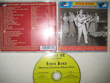 CD Eddie Bond - Memphis Country Music King Rock n Roll Rockabilly