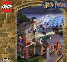 LEGO HARRY POTTER 'ESCAPE FROM PRIVET DRIVE' #4728 RARE 100% COMPLETE GUARANTEE