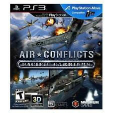 Air Conflicts : Pacific Carriers [PlayStation 3, 2013] flight simulator COMPLETE