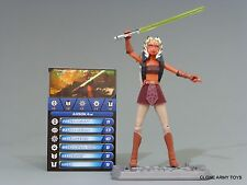 STAR WARS AHSOKA TANO CLONE COLLECTION ROTTA HUTT JEDI CW17 TCW SOTDS LOOSE