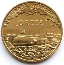 Poland 2 zloty 2012 ORP Orzeł UNC (#351)