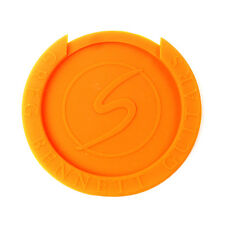 Acoustic Guitar Soundhole Cover Screeching Halt Feedback buster ,Orange