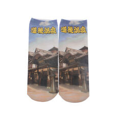 3D Printed Unisex Animals Fashion Low Cut Ankle Cotton Socks Japan Therma