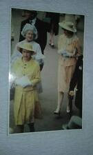 @ POSTCARD - PRINCESS DIANA - QUEEN - QUEEN MOTHER - ASCOT - HORSE RACING (E)