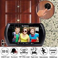 """4.3"""" inch LCD Digital Peephole Viewer Door Eye Doorbell Video IR Motion Camera"""