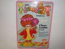 vintage JELLY BEAN FASHIONS CHEER LEADER OUTFIT 1982 LANARD DOLL moc ON card