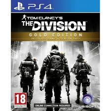 TOM CLANCY'S LA DIVISIONE Gold Edition ps4 GIOCO NUOVO di zecca
