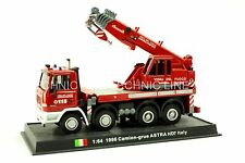Camion - grue ASTRA HD7 -1996 Italian Fire Truck Diecast Model 1:64 No 8