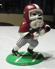 Georgia Fighting Bulldogs UGA Rushing Bulldog Football Ceramic Figure