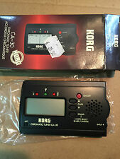 KORG CA 30 - CHROMATIC TUNER