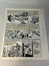 WONDER WOMAN limited collectors ed #43 prod artwork, 1976, XMAS, CHRISTMAS, NAZI