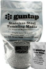 """7 Pounds Stainless Steel Tumbling Media Pins 7lb .047"""" x .255"""" Made in USA"""